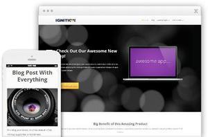 Ignition WordPress Business Website Theme