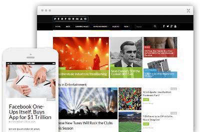 Performag WordPress Business Website Theme