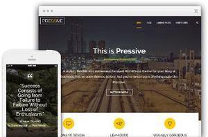 Pressive WordPress Business Website Theme