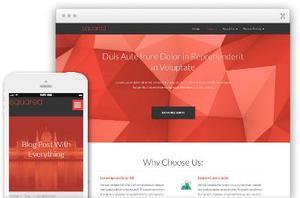 Squared WordPress Business Website Theme