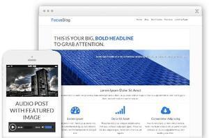 FocusBlog WordPress Business Website Theme