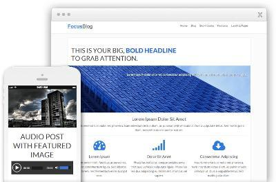 FocusBlog WordPress Business Website Theme